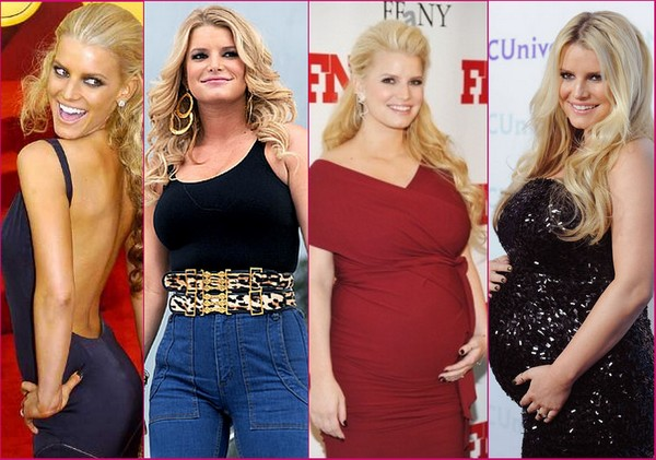 Amazing celeb weight loss transformations goosereport jessica simpson weight loss target is 130lb and publicscrutiny Images